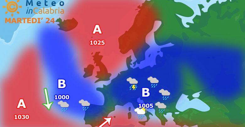 Temporaneo nuovo calo termico in attesa del caldo africano