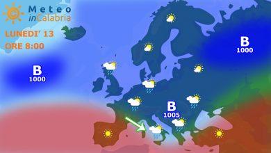 Previsioni per i prossimi 2 giorni: verso nuova instabilità...
