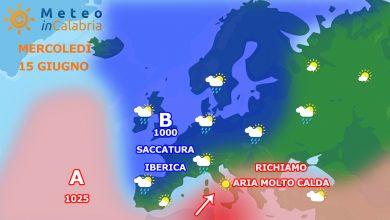 Previsioni del tempo per mercoledì e giovedì: IN ATTESA DEL CALDO ROVENTE!!!!
