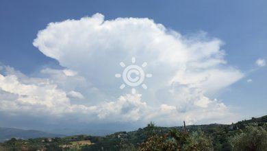 Il tempo di GIOVEDì e VENERDì: ancora instabilità pomeridiana sui monti