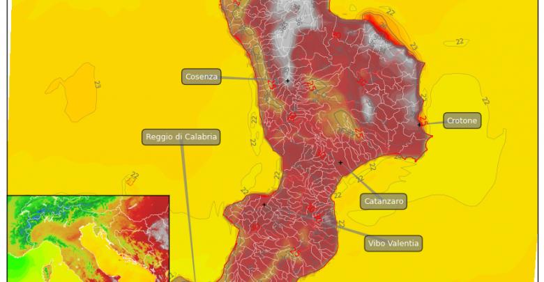 Anche oggi gran caldo: massime superiori a 35°C! Vediamo dove..