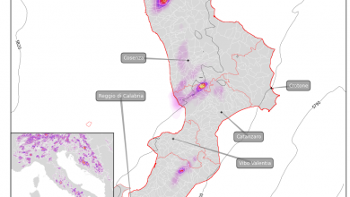 Temporali di calore in atto in Calabria: vediamo dove e quale possibile evoluzione