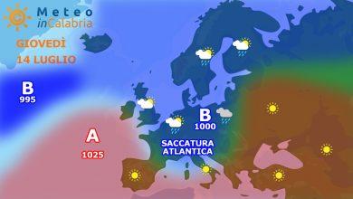 Previsioni per giovedì e venerdì: anche l'estate se ne va in vacanza...