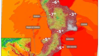 Oggi toccati i 38°. Da giovedì primo calo delle temperature, ed a seguire...