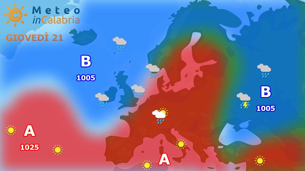 Previsioni del tempo per giovedì e venerdì: il ritorno del caldo...quello con la C maiuscola!