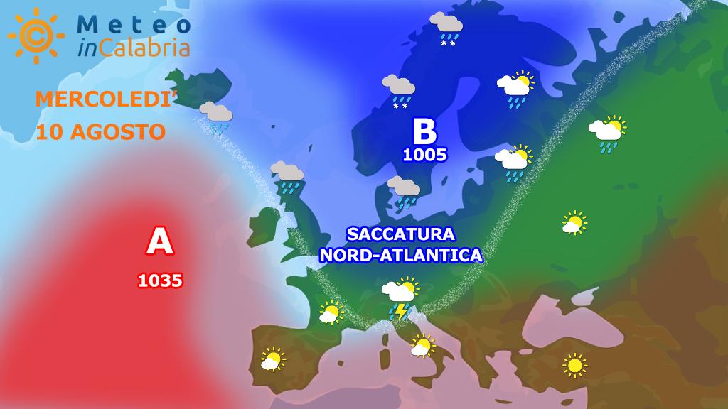 Previsioni per mercoledì 10 e giovedì 11: ritorno dell'estate, MA...
