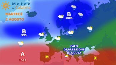 Previsioni per martedì e mercoledì: leggera instabilità...