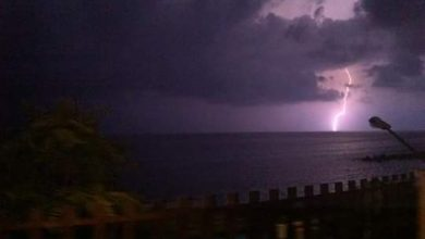 Notte di piogge localmente abbondanti in Calabria...