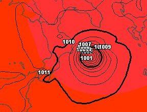 Un ciclone (simil) tropicale sullo Ionio per venerdì sera? Possibile ma da confermare