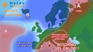 Settimana prossima sull'ALTALENA: dal CALDO al FREDDO in pochi giorni?