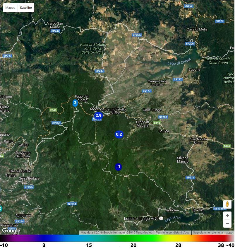 Risveglio INVERNALE sulla Calabria: mari mossi, NEVE su Pollino e Sila con temperature sottozero!