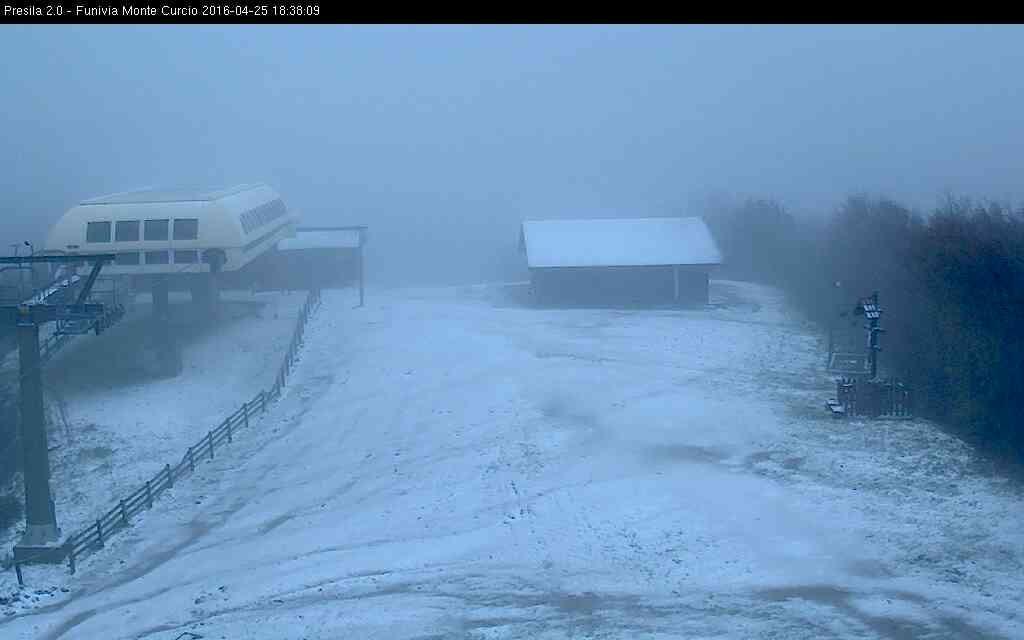 In arrivo i primi fiocchi di neve sulle nostre montagne!