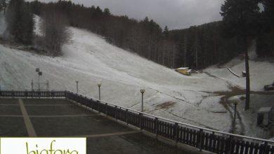 Risveglio INVERNALE: neve e 6 gradi sottozero sui monti. LE FOTO