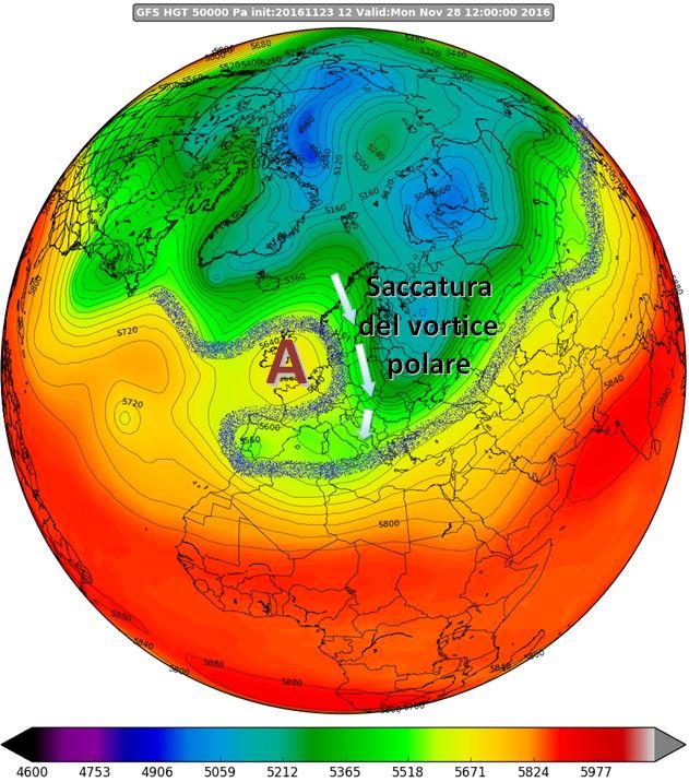 """""""Grande freddo"""" da martedì 29 novembre in Calabria? Non esageriamo..."""