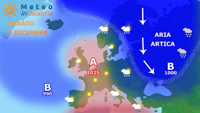 Meteo weekend: instabilità localizzata