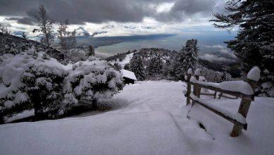 Aspromonte Gambarie stretto di messina neve
