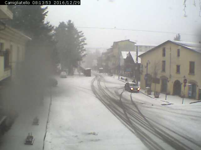 Risveglio gelido: -11 in Sila, nevica fino a bassa quota