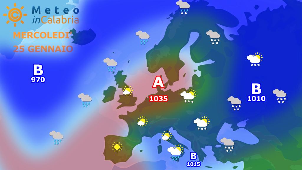 Mercoledì residua instabilità localizzata. Da giovedì migliora...