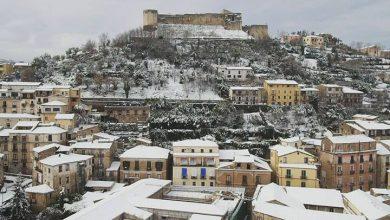 11 gennaio 2017: le foto di Cosenza innevata dal drone...e non solo!