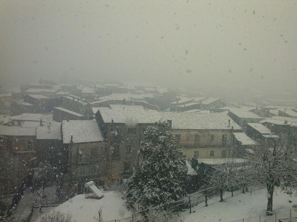 Aggiornamento: tra martedì sera e mercoledì, nevicate localmente a quote molto basse...