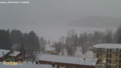 LIVE: Aria gelida e locali nevicate!