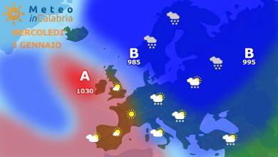 Meteo martedì e mercoledì: tempo in peggioramento in attesa del gelo!