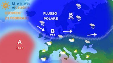 meteo di giovedì e venerdì:nubi sparse e qualche piovasco