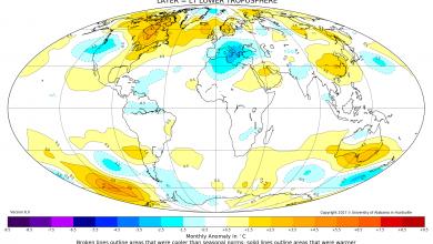 Inverno 16-17: anche i dati satellitari confermano...