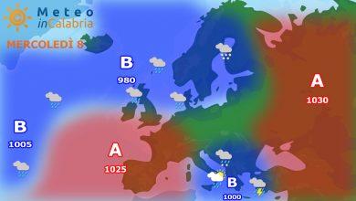 Meteo di mercoledì e giovedì: ancora residue precipitazioni, in graduale miglioramento!