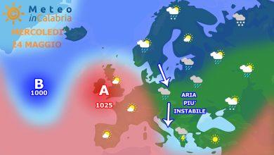 Meteo di mercoledì e giovedì: temporali pomeridiani sui monti e non solo...