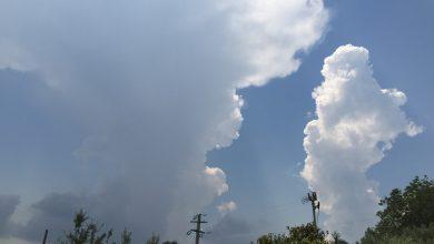 Meteo di domenica e lunedì: nuova accentuazione dell'instabilità pomeridiana...