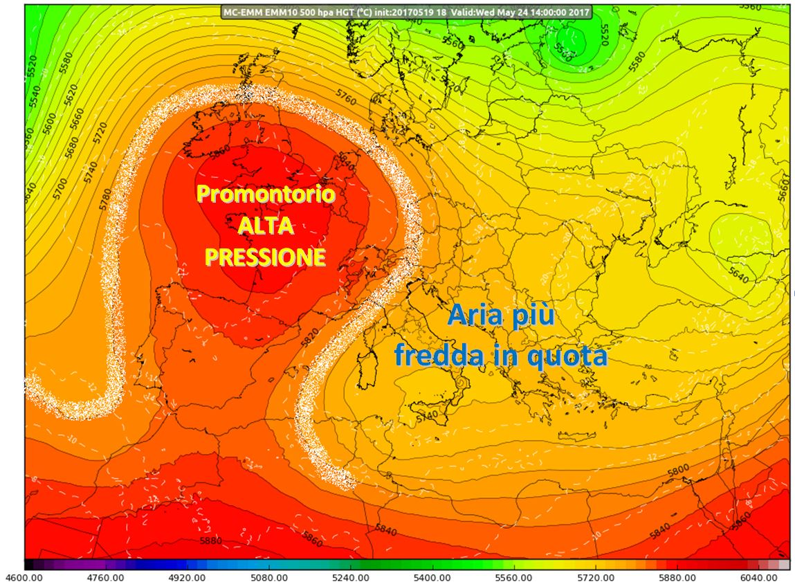 Nei prossimi giorni nuova instabilità in vista...