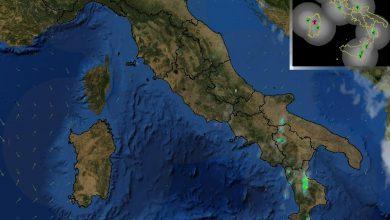 Piogge e temporali in Calabria: la possibile evoluzione del pomeriggio...