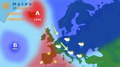 Meteo domenica e lunedì: lieve instabilità e calo termico