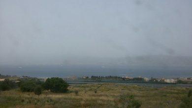 La Calabria sotto cieli sporchi di polveri desertiche!