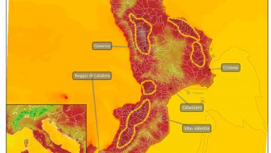 Martedì assaggeremo l'antipasto del caldo africano ormai imminente!