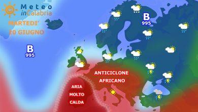 Anticiclone africano sempre più vicino: si aspetta un graduale aumento termico...