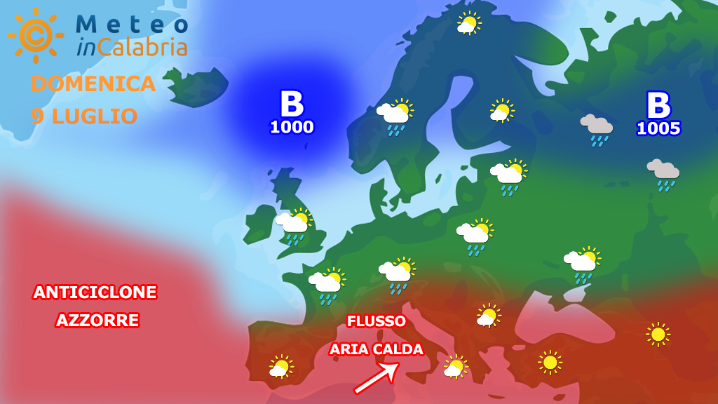 Meteo in Calabria di domenica e lunedì: tempo bello e caldo