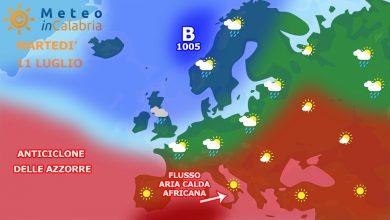 Meteo martedì e mercoledì: caldo in ulteriore lieve aumento!