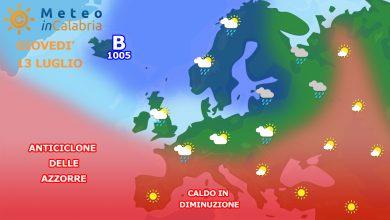 Meteo Calabria: da giovedì il caldo mollerà lentamente la presa!