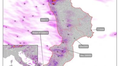 Mercoledì 26 luglio: focus sulle piogge in Calabria...