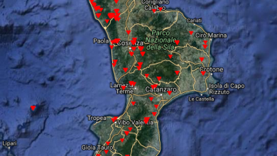 13 luglio 2017: giornata nera degli incendi in Calabria!