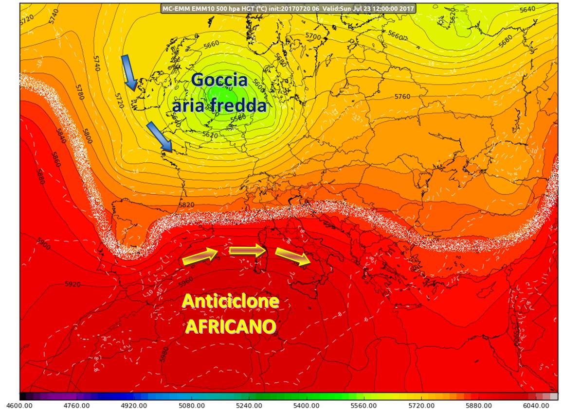 Nuova ondata di caldo africano, ma fino a quando?
