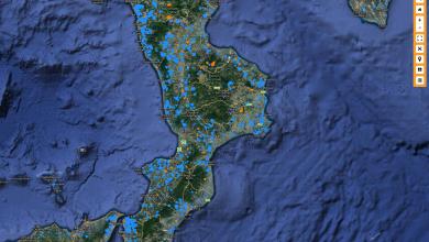 Migliaia di ettari interessati da incendi nel luglio 2017 in Calabria! Ecco i dati e le mappe