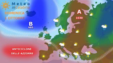 Meteo di domenica e lunedì: ancora possibile locale instabilità...