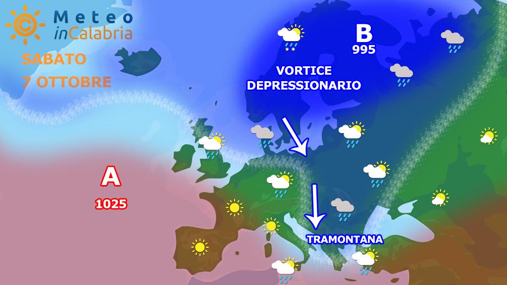 Meteo di sabato e domenica: alle prese con tramontana e abbassamento delle temperature!