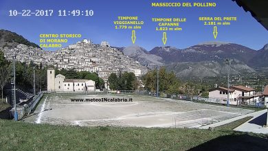 Installata una nuova SPETTACOLARE webcam di www.meteoINcalabria.it a MORANO CALABRO !