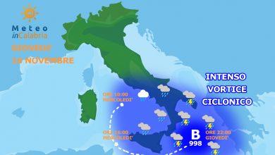 Tra giovedì e venerdì rischio di un CICLONE TROPICALE sul Mediterraneo?