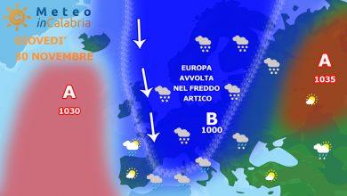 Da giovedì peggioramento del tempo soprattutto sui versanti tirrenici...