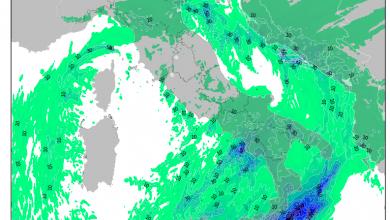 Nuove piogge in arrivo tra venerdì e sabato?